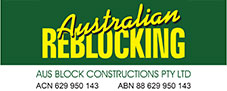 Australian Reblocking Mobile Retina Logo